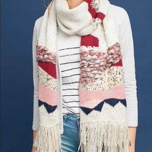Hello Hydrangea | Knitted Sequin Scarf